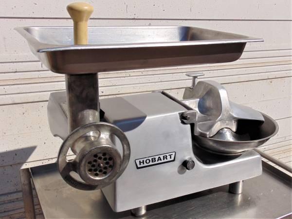 Photo Hobart Buffalo Chopper Food Processor w Meat Grinder Attachment 84145 - $3495 (Edmond)