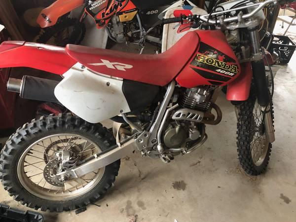 Photo Honda XR 400R 2001 Mint - $3000