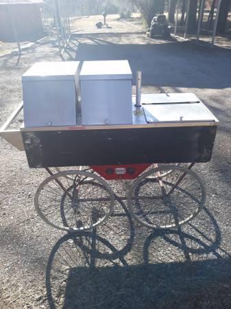 Photo Hot dog cart - $500 (Oklahoma City)