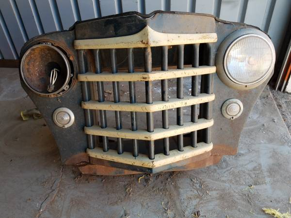 Photo Jeep Willys Truck Grill Assembly - $350 (Oklahoma city)