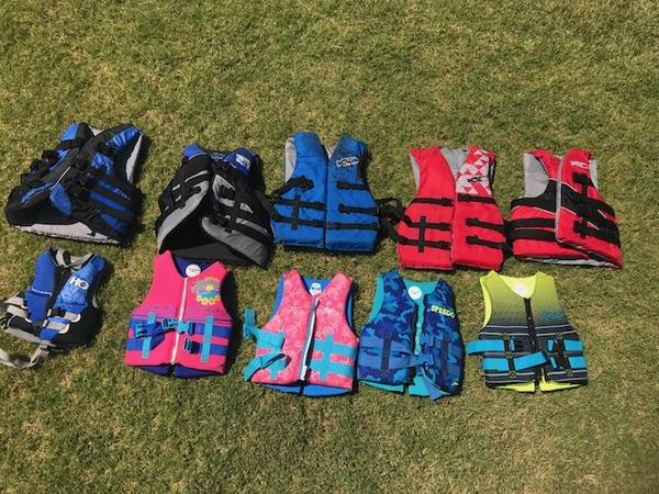 Photo Life jackets - Kids and Adults - take your pick - $12 (Edmond)