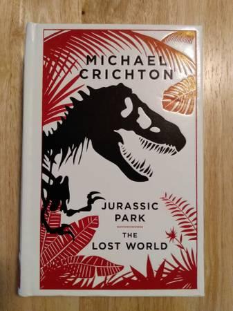 Photo Michael Crichton-Jurassic Park-The Lost World-Leather - $20 (Norman)