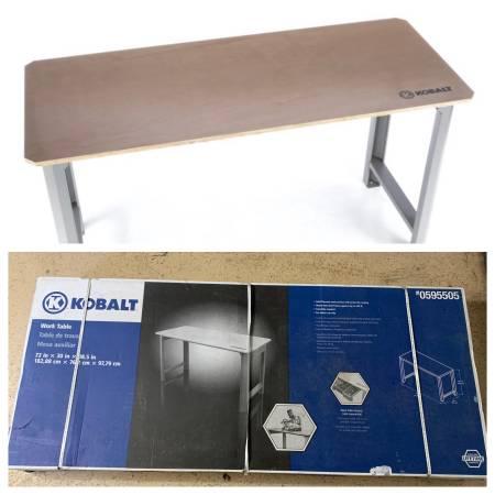 Photo New Kobalt Tool Work Bench - $200