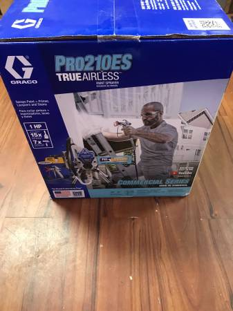 Photo New in Box  Graco Pro210ES Paint Sprayer - $750 (Newcastle)