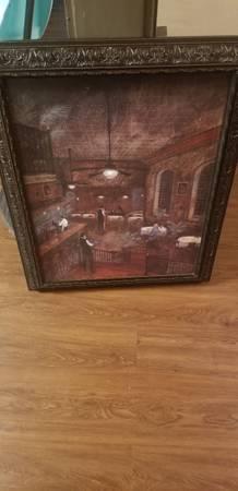 Photo Two bar scene prints - $75 (Oklahoma City)