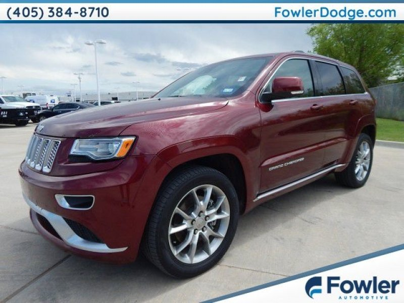 Photo Used 2016 Jeep Grand Cherokee 4WD Summit for sale