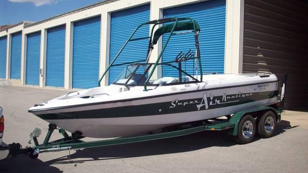 Photo Correct Craft SUPER AIR NAUTIQUE Boat  tandem AXEL TRAILER - $12,500
