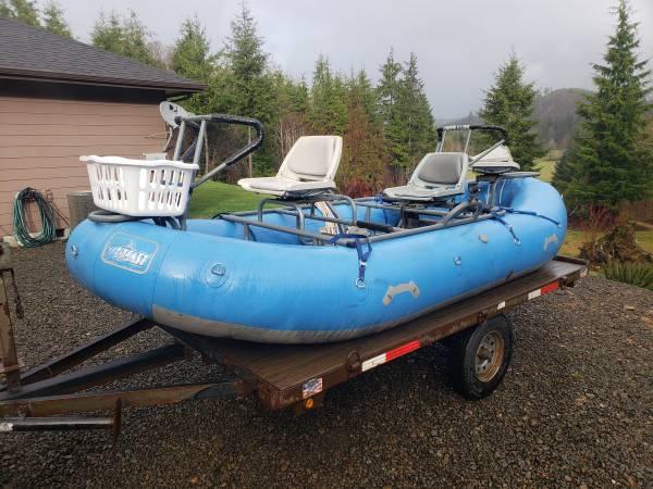 Photo 1439 Aire Puma Raft - $3500 (Forks)