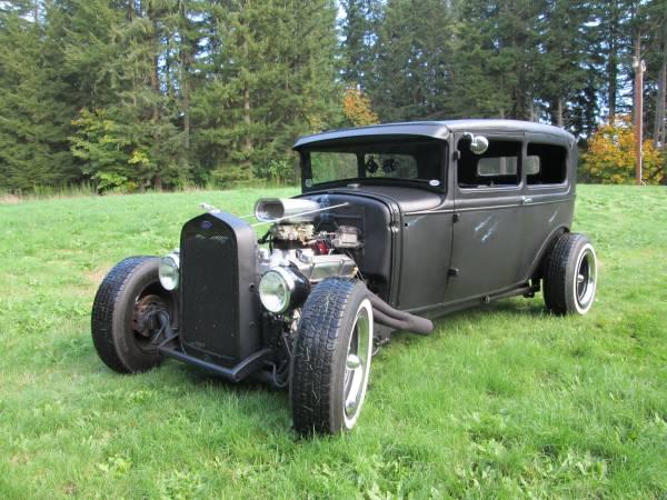 Photo 1930 FORD RAT ROD TUDOR - $19,500 (PORT ORCHARD)