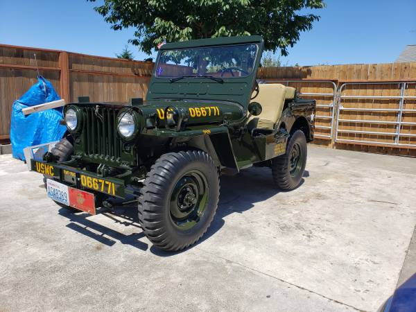 Photo 1951 Willys Military Jeep - $19,500 (Sequim)