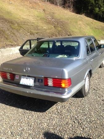 Photo 1987 Mercedes Benz SEL 560 - $15000 (Forks)