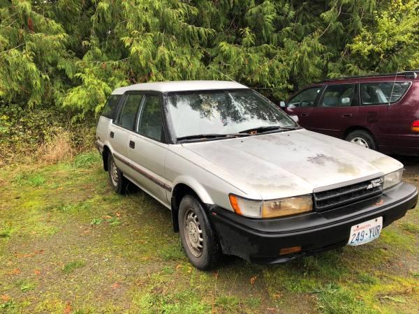 Photo 1988 Toyota Corolla - $1,400 (Port Townsend)