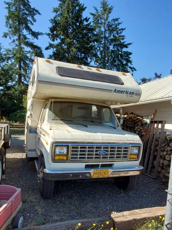 Photo 1990 Econoline 350 Motorhome - $4,000 (Beavercreek)