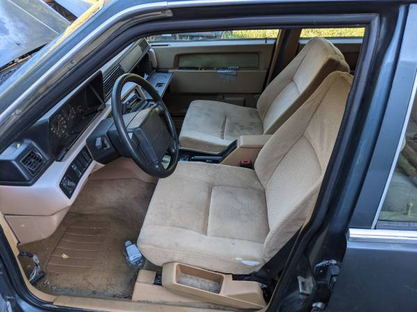 Photo 1990 volvo 740 wagon for parts - $500 (Port Townsend)