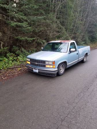 Photo 1992 chevy truck - $1200 (Sequim)