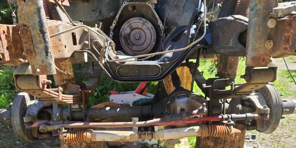 Photo 1997 Ford F350 E4OD Transmission and Transfer Case - $750