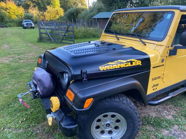 Photo 2004 jeep wrangler TJ sport - $10,500 (Montesano)