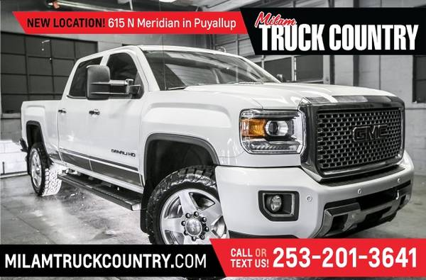 Photo 2015 GMC Sierra 3500HD Denali Z71 Crew Cab 4WD (_GMC_ _Sierra 3500HD_ _Truck_)