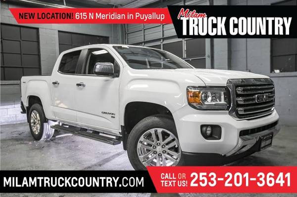 Photo 2016 GMC Canyon SLT Crew Cab 4WD (_GMC_ _Canyon_ _Truck_)