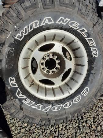 Photo Aluminum Centerline Truck Rims - $75 (Port Townsend)