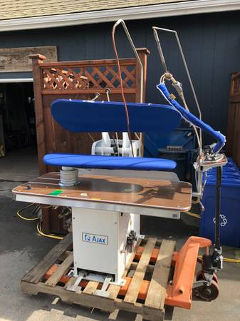Photo American Laundry Machinery AJAX Pants Press Presser DC 43 Dry Cleaning - $699 (Conway)