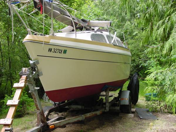Photo BAYLINER BUCCANEER 2139 SLOOP - $5900 (PORT ANGELES, WA.)
