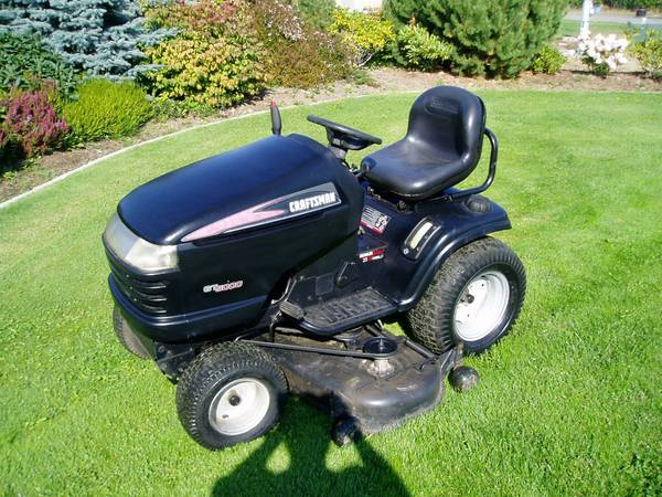 Removing The Mower Deck From A Craftsman T2400 And Replacing It With Er Do You Have All Pieces