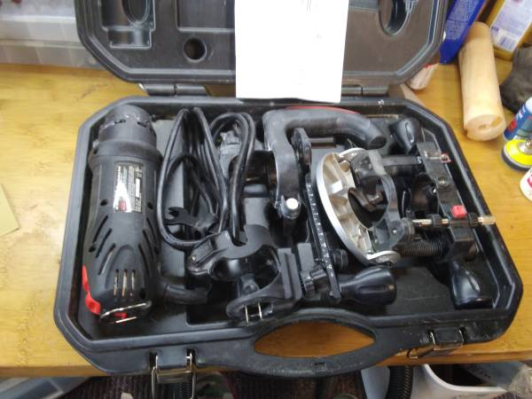 Photo Craftsman Rotary Cutting Tool Set All-in-One - $40 (SEQUIM)