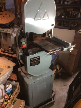 Photo Delta 14 Bandsaw,Excellent.Cond. - $400 (Port townsend)