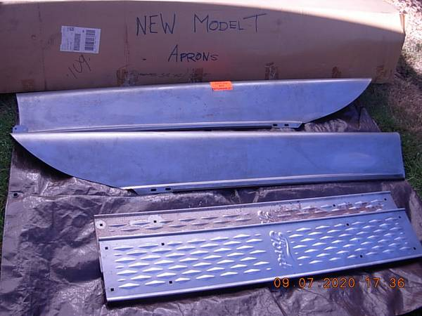 Photo FORD MODEL T Running Boards  Splash Aprons - $210 (Lakeside, Or (near Coos Bay))