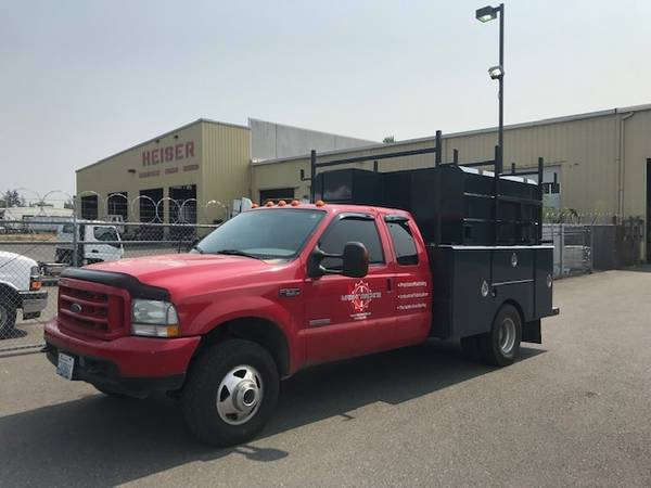 Photo Ford 2003 F350 Dually w Service Body - $13,500 (Port Townsend)