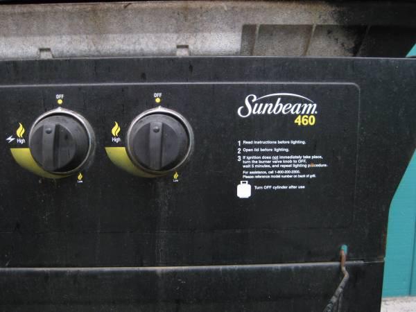 Photo Free Sunbeam BBQ grill 460 (Newberg)