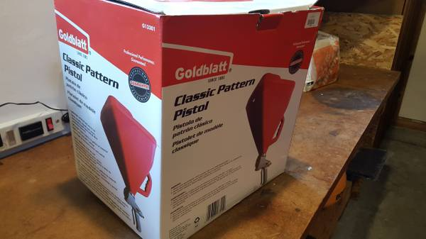 Photo Goldblatt hopper for drywall texture - $20 (SequimSe)