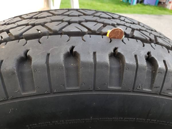 Photo Goodyear Wrangler Two-P265-70R 17 Tires - $150 (Port Orchard)