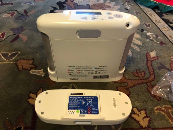 Photo Inogen One G3 Portable Oxygen Kit With Battery, Two Chargers, etc. - $725 (sequim)