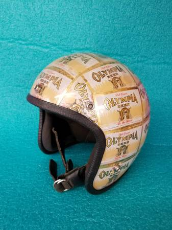 Photo Looking for Old Motorcycle Helmets - $50 (Olympia)