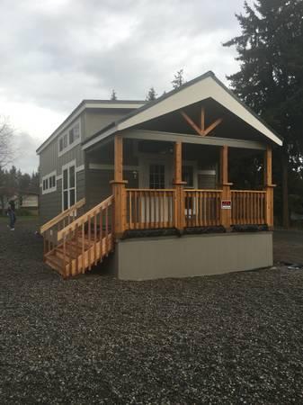 Photo Park Model Home - $109,000 (Port Hadlock-Chimacum)