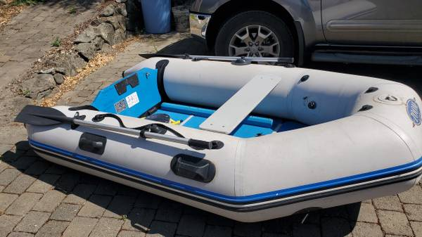 Photo SOLD zodiac inflatable - $325 (port townsend)