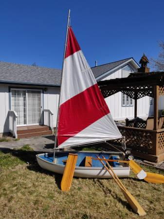 Photo Small sailing Dinghey - $400 (Sequim)