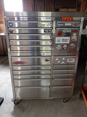 Photo Tool box with tools - $1,500 (Mccleary)