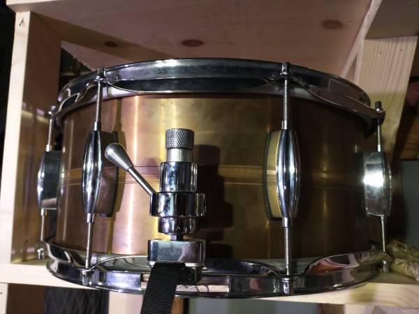 Photo Vintage Slingerland copper snare drum - $800 (Bellingham)