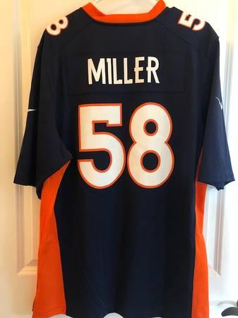 Photo Von Miller Nike Denver Broncos Jersey - $50 (Port Angeles)