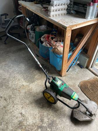 Photo Weed Eater Brand Walk Behind String Trimmer Weed Eater Whacker - $60 (sequim)