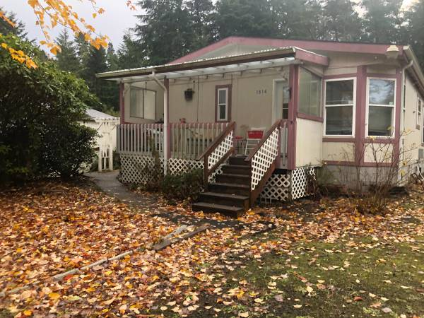 Photo Well maintained manufactured home on the Long Beach Peninsula (Ocean Park)