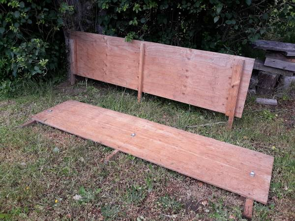 Photo Wood Stake-Sides for Pick Up Truck - $40 (Port Townsend)