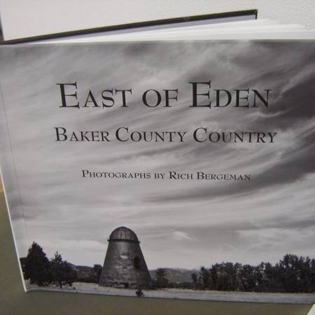 Photo photo-history of Baker County Country, Oregon. Art by RICH BERGEMAN - $35 (Portland)