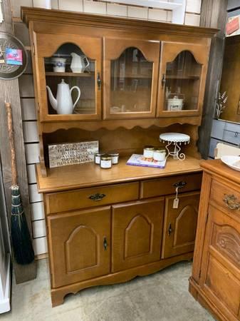 Photo vintage kitchen hutch - $248 (poulsbo, wa)