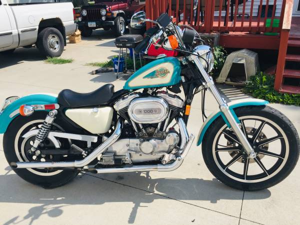 Photo 1992 Harley Davidson Sportster 1200 XL - $5,500 (Council Bluffs)