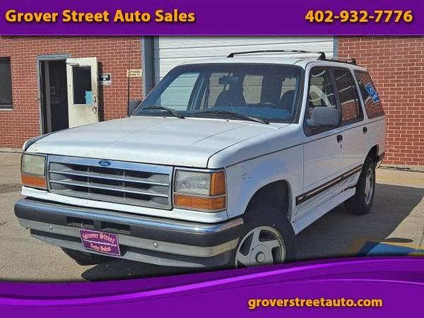 Photo 1994 Ford Explorer Eddie Bauer 4-Door 4WD - $1,195 (Omaha, NE)