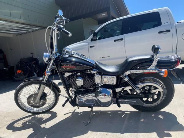 Photo 1998 Harley Davidson Dyna Wide Glide - $5,750 (Council Bluffs)